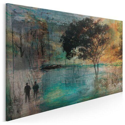 Obrazy, Wieczne drzewo miłości - nowoczesny obraz na płótnie