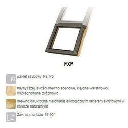 Okno dachowe FAKRO FXP P5 94x95 antywłamaniowe 3-szybowe nieotwierane