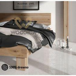 Łóżko dębowe Caragana 02 180x200