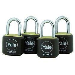 Y110J/15/111/4 Zestaw kłódek walizkowych Yale
