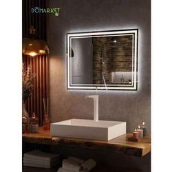 Lustro z oświetleniem ledowym do łazienki: ALISA-10