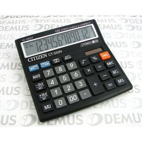 Kalkulatory, Kalkulator Citizen CT-555N