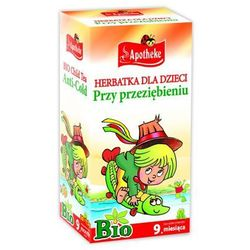 Herbatka dla dzieci PRZY PRZEZIĘBIENIU BIO od 9 mies. 20 x 1,5 g Apotheke