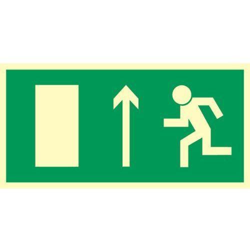 Oznakowanie informacyjne i ostrzegawcze, Znak Kierunek ewakuacji do wyjścia strz. w górę