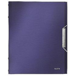 Teczka segregująca Leitz Style 6 przegródek 200 kartek tytanowy błękit 39950069