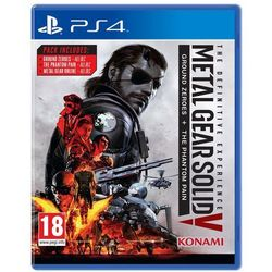 Metal Gear Solid 5 The Definitive Experince (PS4)