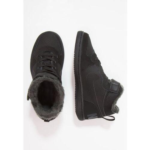 Obuwie sportowe dziecięce, Nike Sportswear NIKE COURT BOROUGH MID WTR PSV Tenisówki i Trampki wysokie black/anthracite