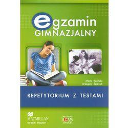 Egzamin Gimnazjalny Repetytorium z testami z płytą CD (opr. miękka)