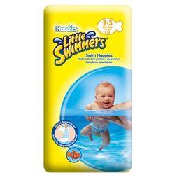 HUGGIES LITTLE SWIMMERS Small (3-8kg) majteczki 12szt pieluszki do pływania