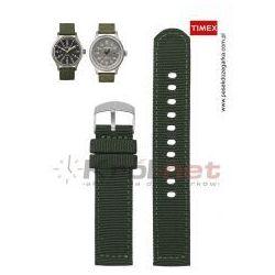 Pasek Timex T49961 (P49961) - zielony, nylon