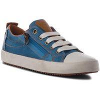 Buty sportowe dla dzieci, Trampki GEOX - J Alonisso B. D J822CD 00010 C4Z6N S Lt Blue/Cognac