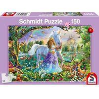 Puzzle, Puzzle 150 księżniczka jednorożec i zamek g3