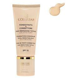 Collistar Foundation + Concealer SPF15 Podkład i korektor do twarzy 30 ml - 1 Ivory