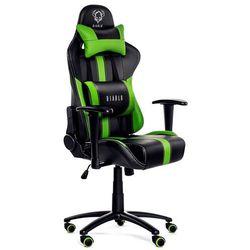 Fotel DIABLO X-Player Czarno-zielony + Zamów z DOSTAWĄ JUTRO! + DARMOWY TRANSPORT!