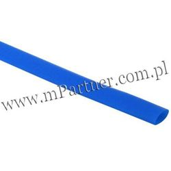 Rura termokurczliwa elastyczna V20-HFT 8/4 niebieska