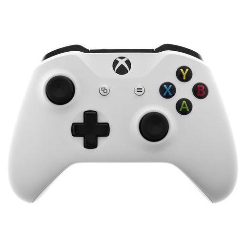 Gamepady, Kontroler MICROSOFT XBOX ONE Biały + Zamów z DOSTAWĄ JUTRO!