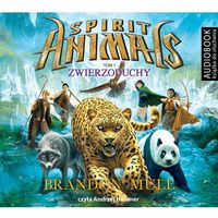 Audiobooki, Spirit Animals. Tom 1. Zwierzoduchy (Audiobook na CD) - Wyprzedaż do 90%
