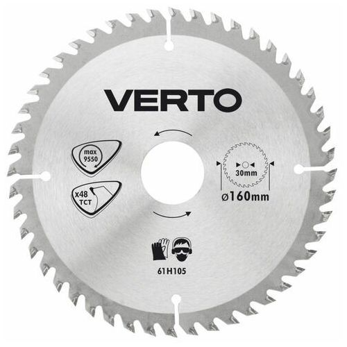 Tarcze do cięcia, Tarcza do cięcia VERTO 61H106 180 x 30 mm do pilarki widiowa