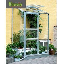 Przyścienna szklarnia ogrodowa Ida 0,69 x 1,32 m Vitavia
