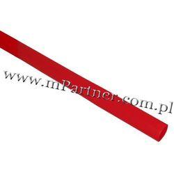 Rura termokurczliwa elastyczna V20-HFT 12/6 czerwona
