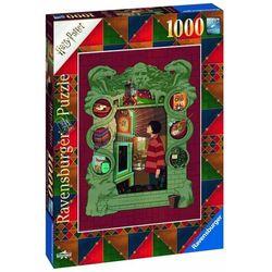 Ravensburger puzzle 165162 Harry Potter U rodziny Weasleyów, 1000 elementów