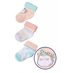 Skarpety niemowlęce 3pak 5V3340 Oferta ważna tylko do 2019-03-17