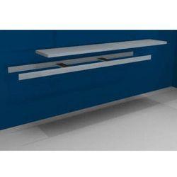 Dodatkowa półka w komplecie z trawersami i półką stalową,szer. 2500 mm