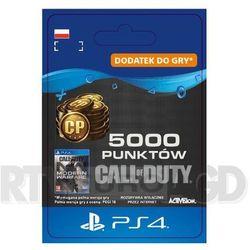 Call of Duty: Modern Warfare 5000 Punktów [kod aktywacyjny] PS4