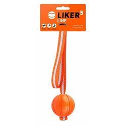 Liker 5cm na pasku taśmie - piłka zabawka aport szarpak collar dla psa