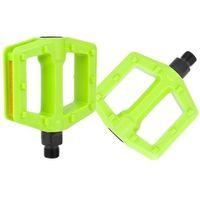 Pedały rowerowe, Pedały Author APD-522-Junior zielona(fluo) - zielone