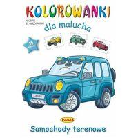 Książki dla dzieci, Samochody terenowe. kolorowanki dla malucha (opr. miękka)