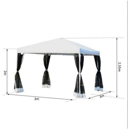 Namioty ogrodowe, Pawilon ogrodowy 3 x 3 Moskitiera