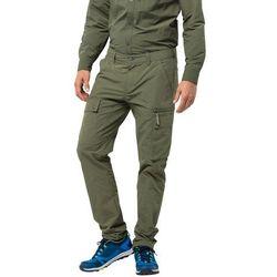 Męskie spodnie trekkingowe LAKESIDE PANTS M woodland green - 52