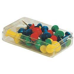 Pinezki tablicowe kolorowe 20 sztuk E&D PLASTIC 28033