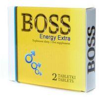 Leki na potencję, Boss Energy Extra ŻÓŁTY 2 tabl. Silna erekcja na zawołanie 500002