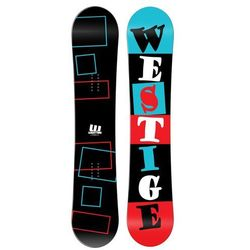 Westige snowboard Square Black 155