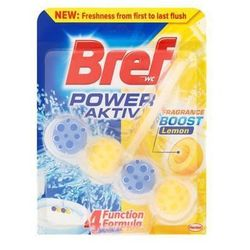 BREF 50g Power active Lemon zawieszka do muszli Wc