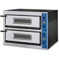 Piece i płyty grzejne gastronomiczne, Piec do pizzy 2-komorowy 8400W | 8x Ø 30cm | 230V