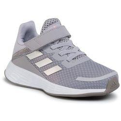 Buty adidas - Duramo Sl C FX7310 Glory Grey/Silver Metallic/Light Flash Orange