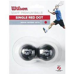Wilson 2-Pack Ball 1 kropka czerwona