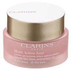 Clarins Multi-Active antyoksydacyjny krem na dzień przeciw pierwszym oznakom starzenia skóry (Day Early Wrinkle Correction Cream for All Skin Types) 5