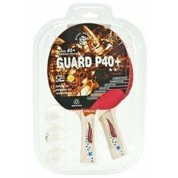 Zestaw do tenisa stołowego Allright Guard P40+ 2rakietki+3 piłeczki
