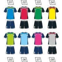 Piłka nożna, Strój piłkarski Colo Shiver + nadruk gratis