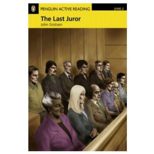 Książki do nauki języka, Penguin Active Reading, Poziom 2: The Last Juror Book with Audio CD / CD-ROM (opr. miękka)