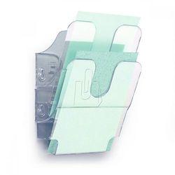 Zestaw dwóch pionowych pojemników Durable Flexiboxx A5 przezroczysty 1709013400