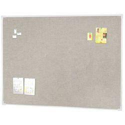 Tablica informacyjna, 1200x900 mm, jasnoszary, aluminium