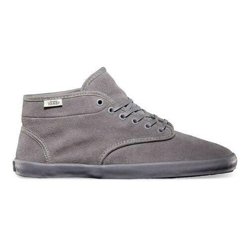 Damskie obuwie sportowe, buty VANS - Houston (Fleece) Frost Gray (8L5) rozmiar: 35