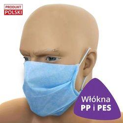 50x Profesjonalna maseczka ochronna CC150 włókna PP i PES