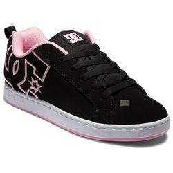 buty DC - Court Graffik Black/White/Pink (KWP) rozmiar: 42.5