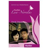 Książki do nauki języka, Hueber Hörbucher: Lese - Novelas (A1):: David, Dresden, Leseheft (opr. miękka)
